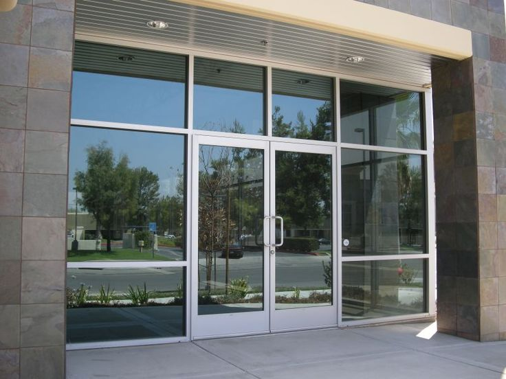 Commercial Glass Exterior Door glass doors for commercial buildings